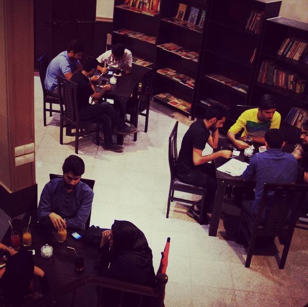 کافه کتاب زاهدان