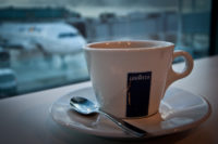 Coffee at Airport