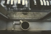 Coffee over window