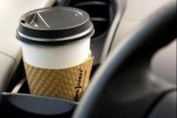 قهوه در ماشین