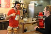 Barista and Customer