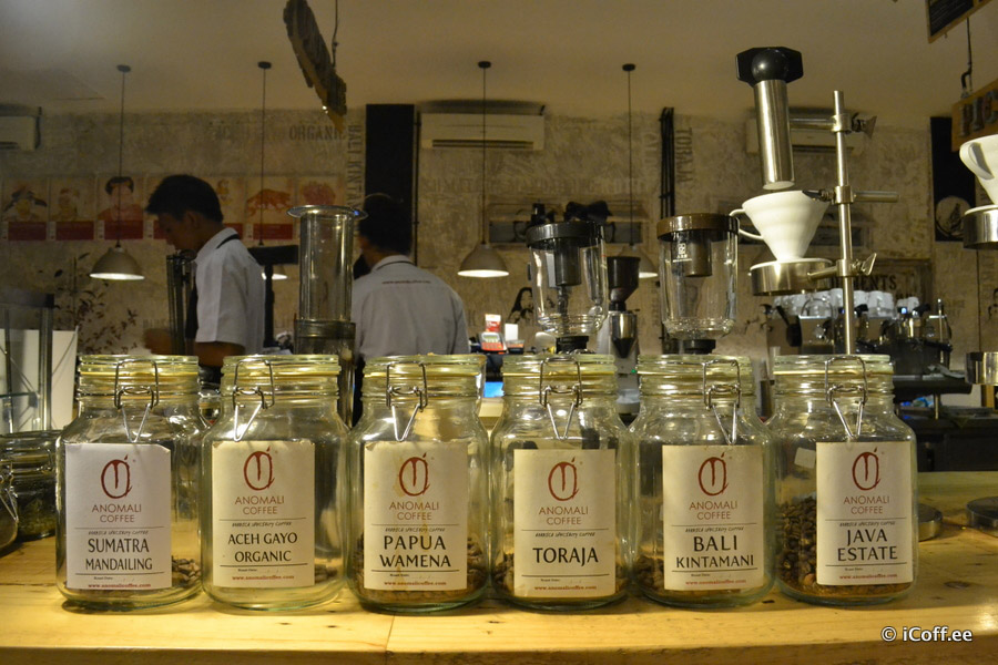 قهوه اندونزی بالی آنومالی