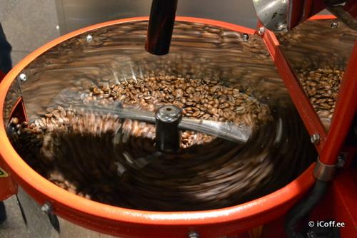 روست قهوه در نمایشگاه قهوه