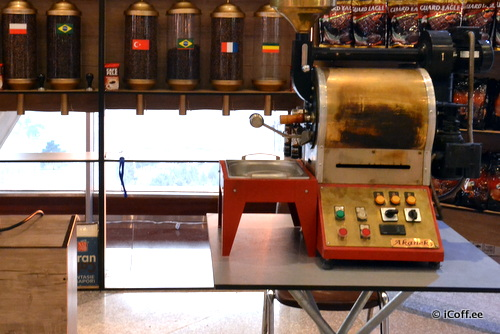 روستر قهوه