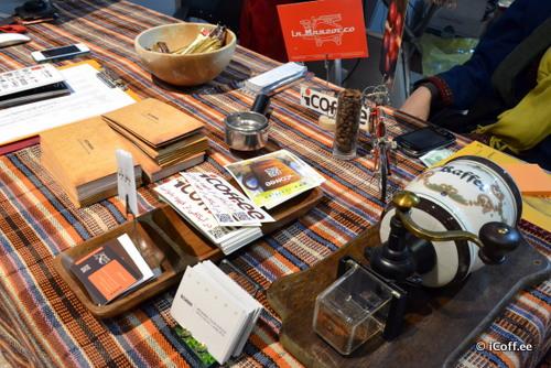 آیکافی در نمایشگاه قهوه