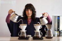 لیلا قنبری باریستای ایرانی آمریکایی
