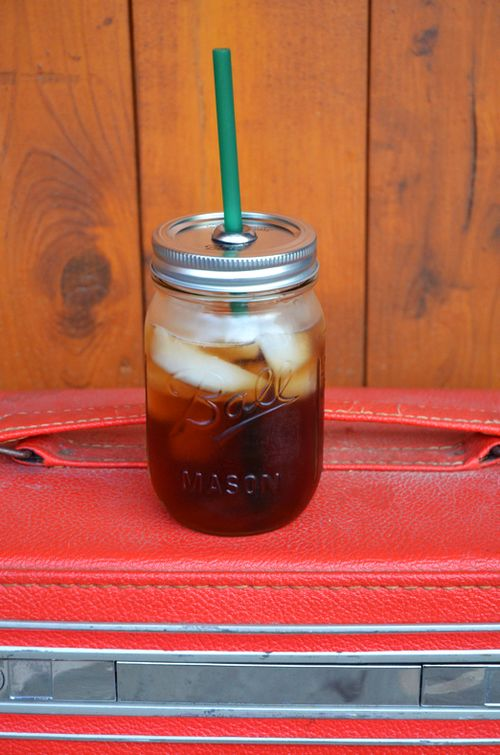 قهوه در شیشه مربا