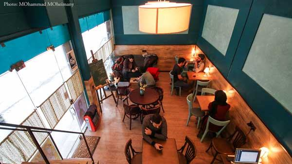 ۵٫ Cafe Bamdad کافه بامداد