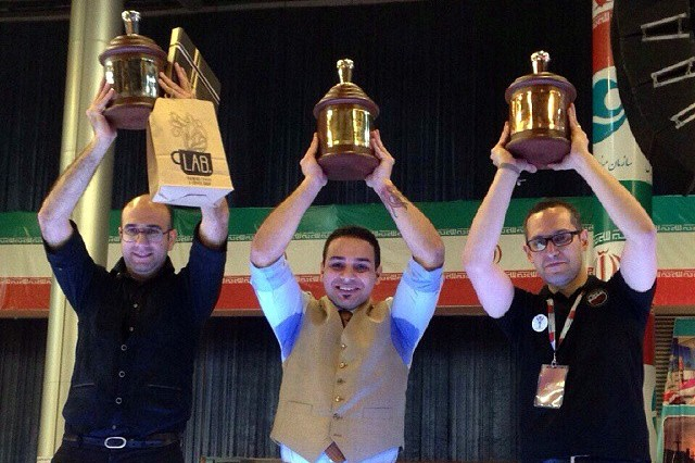 IRIBC قهرمان مسابقات باریستای ایران