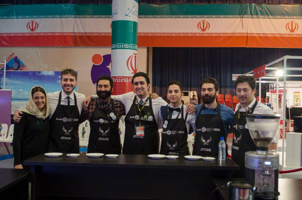 IRIBC final judges داوران مسابقه باریستای ایران