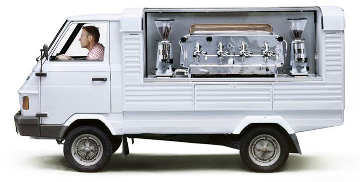 کافه سیار کامیون کافهای