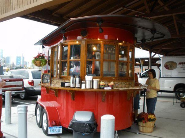 Mobile Cafe 14 کافه سیار