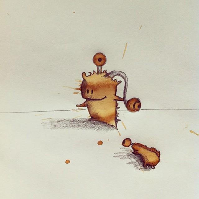 هیولاهای نازنین قهوه ای