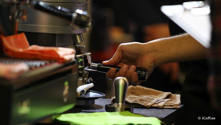 مسابقه باریستا نمایشگاه قهوه و چای