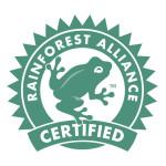 گواهی نامه قهوه rainforest-alliance