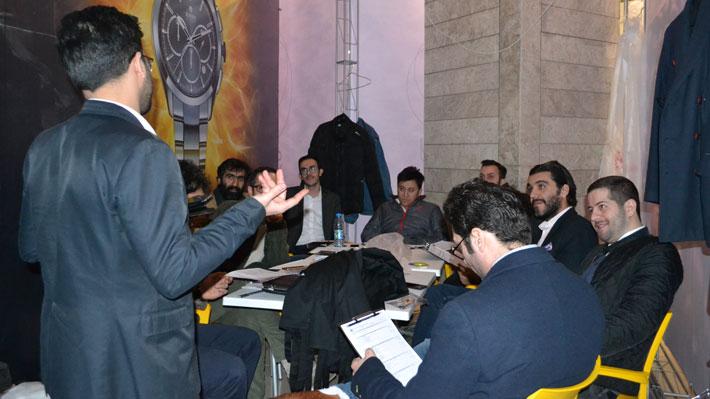 داوران مسابقه باریستا اصفهان