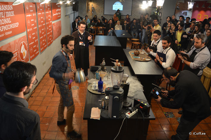 مسابقه قهوه جزوه ایبریک