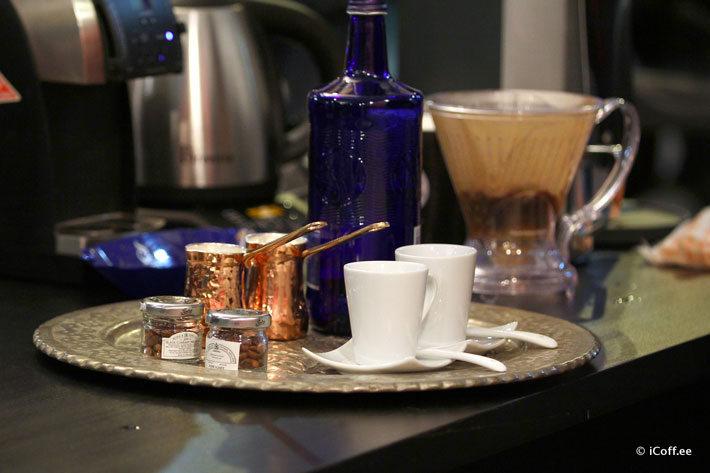 مسابقه قهوه جزوه ایبریک ایران