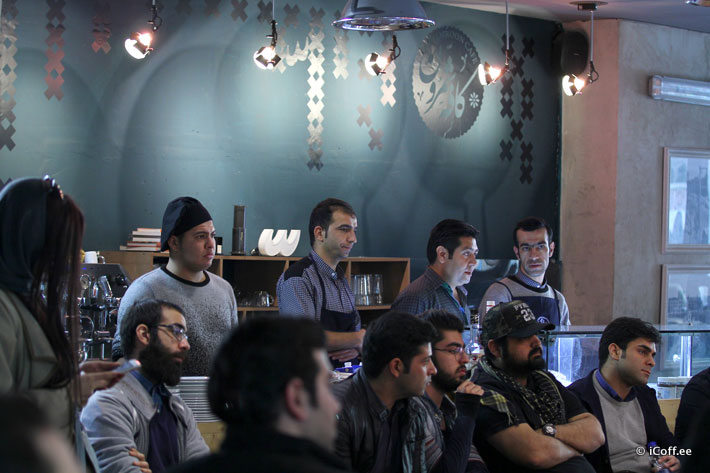 مسابقه جزوه ایبریک قهوه ایران
