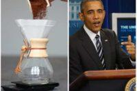 قهوه دمی کمکس در کاخ سفید