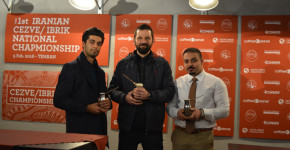 برگزیدگان مسابقه ملی قهوه ترک ایران