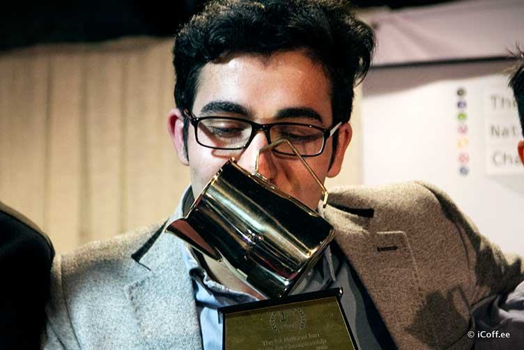 مسابقه لاته آرت ایران حمیدرضا بصیری