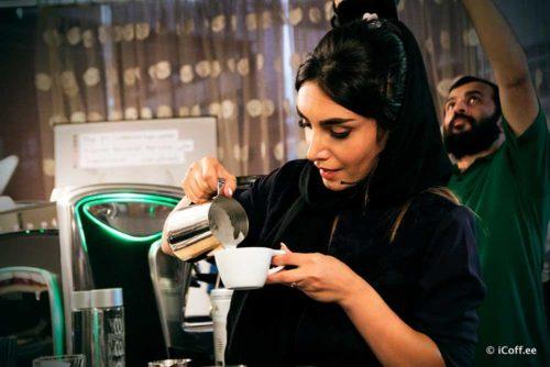 مسابقه ملی باریستا قهوه آیکافی