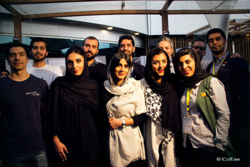 مسابقه ملی باریستا ایران قهوه