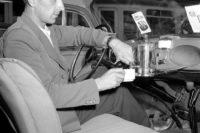 قهوه ساز در ماشین