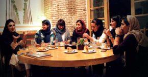 باریستاهای زن دومین دوره مسابقه ملی باریستای ایران