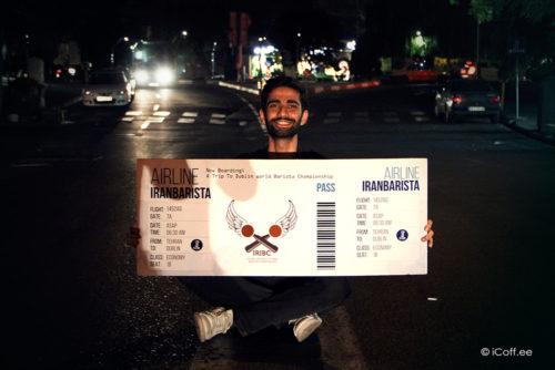 منصور احسانی قهرمان دومین مسابقه ملی باریستای ایران