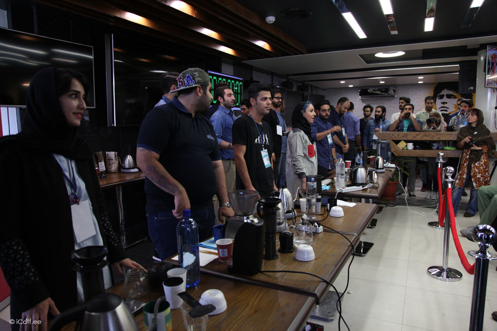 مسابقه ملی قهوه اروپرس ایران