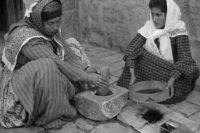 آسیای دستی قهوه زنان فلسطینی