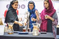 مسابقه قهوه دمآوری آکادمی قهوه آیکافی