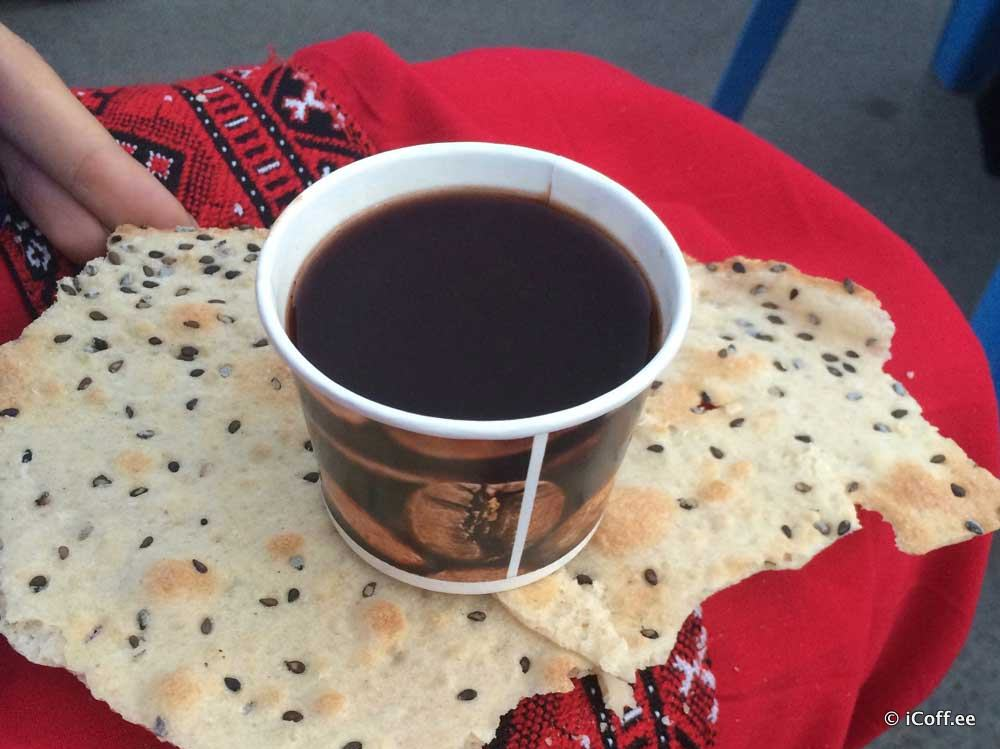 قهوه انوشه کاشان
