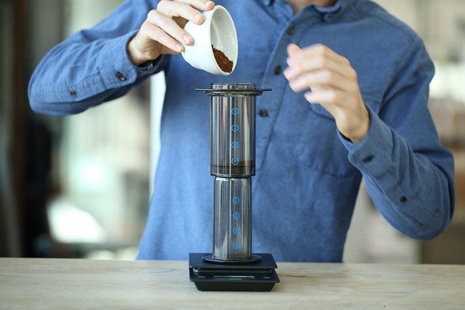 دم کردن قهوه با اروپرس قهوه ایران آیکافی