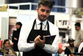 دنیلو لودی قهوه مسابقات باریستا آیکافی