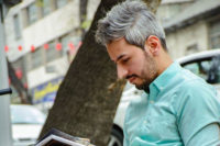 باریستا جواد اکبری قهرمان باریستا ایران