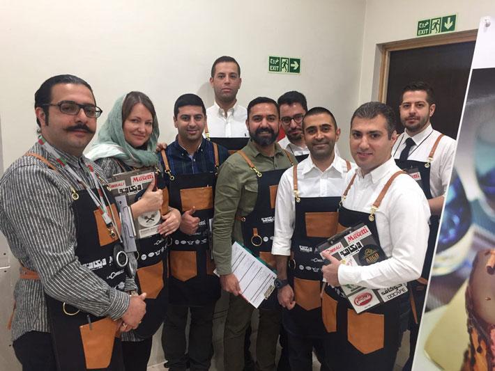 داوران سومین دوره مسابقات ملی باریستا ایران
