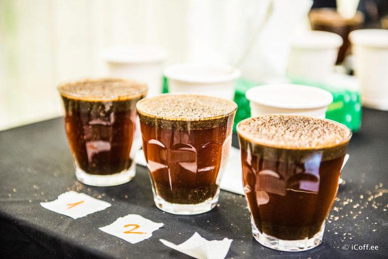 قهوه آزمایی کافی کاپینگ