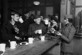 قهوه در جنگ جهانی دوم