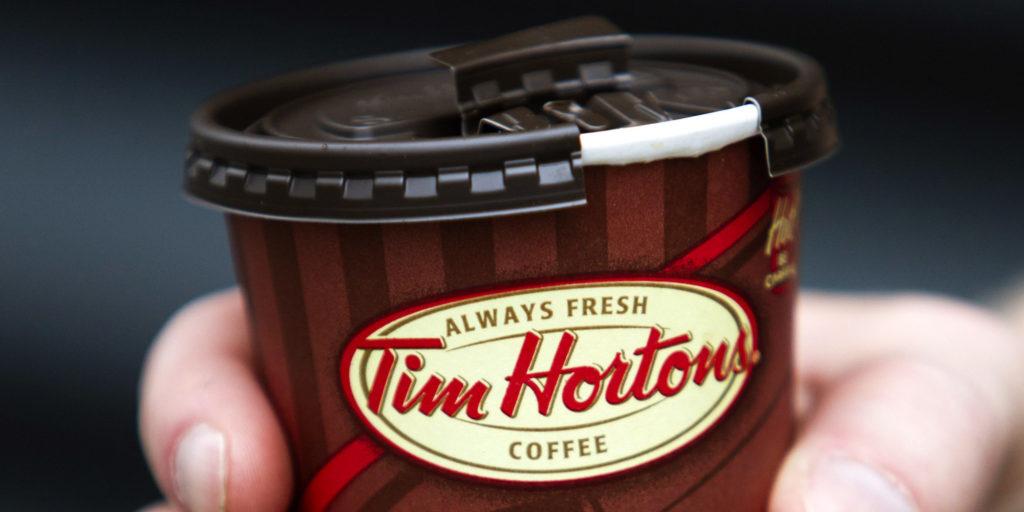 قهوه تیم هورتونز