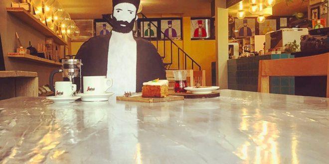 کافه دکان رنگفروشی سابق