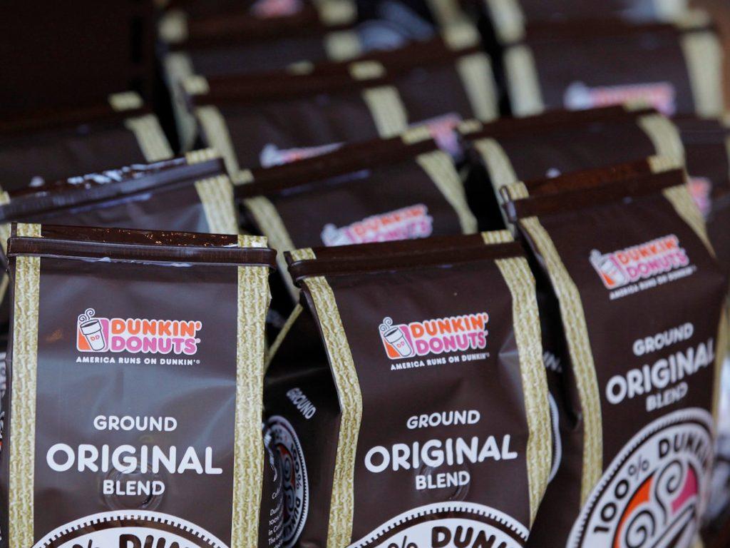 قهوه دانکین دوناتز