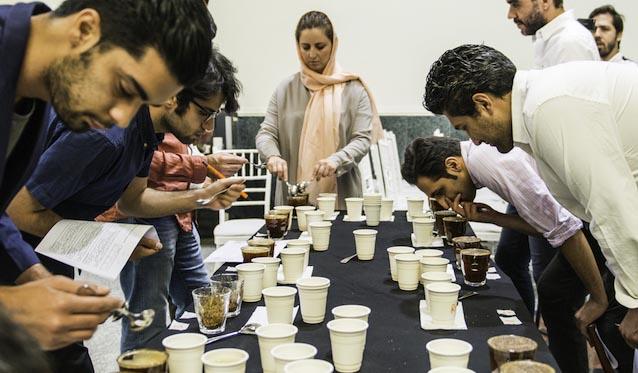درک حسی قهوه قهوه آزمایی