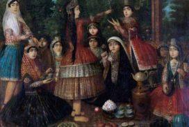 دختران ایرانی گرد سماور