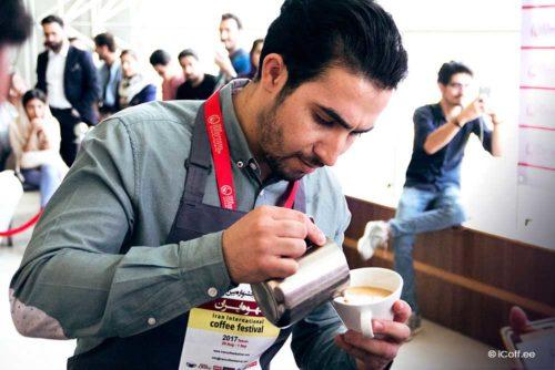 مسابقه لاته آرت فستیوال قهوه