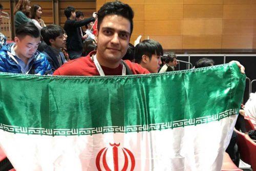 دانا بصیری قهرمان مسابقات اروپرس ایران