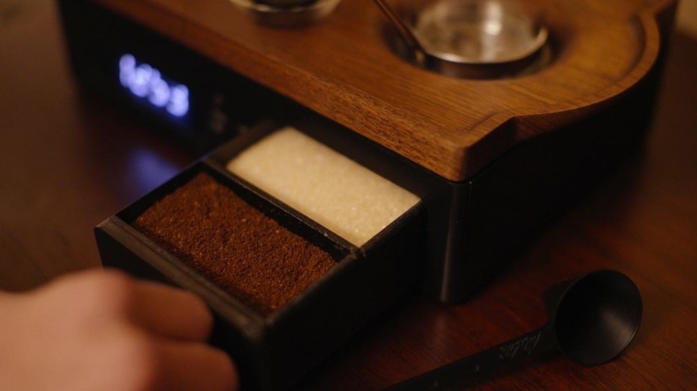 کشویی برای شکر و قهوه
