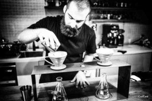 باریستا کافه آیکافی آرمین جهانپناه